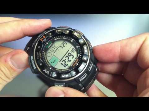 Casio Pathfinder Protrek PRW-2500-1 Solar Atomic Watch