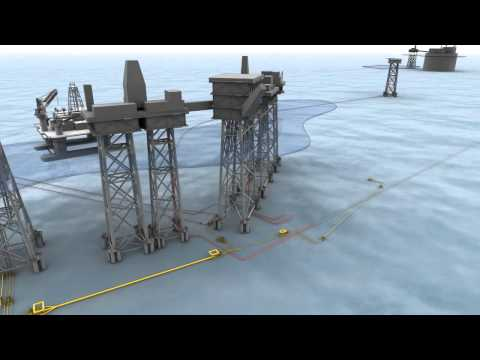 Oil And Gas - 3d Animation - Subsea02