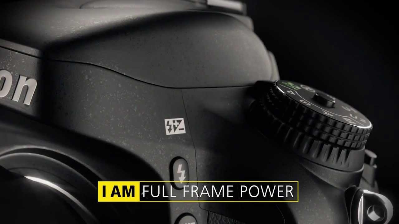Nikon D610 product video (English)