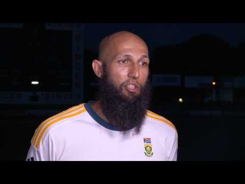 Sri Lanka skipper talks to reporters after losing the Test series to South Africa