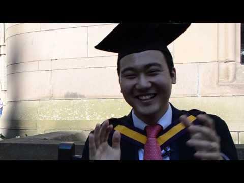 INTO Manchester Alumnus Graduation at The University of Manchester - Seungtaik Hwang