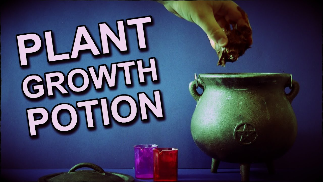 How To Make A Potion To Grow Plants With A Touch