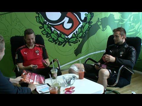 Sportklubben med Axel Kjäll och Filip Rogic