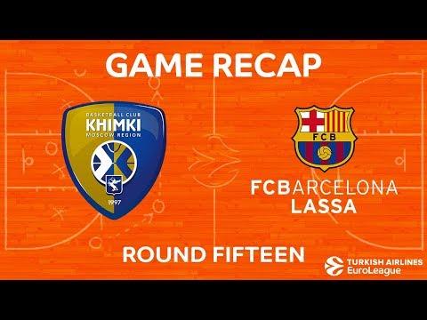Khimki Moscow Region  65-79 Barcelona Lassa 29 Dec, 2017