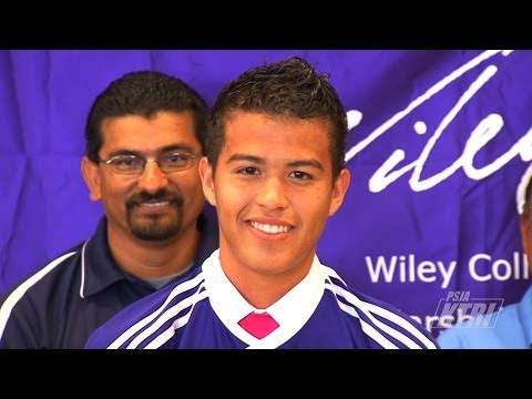 PSJA Southwest ECHS Senior Hector Trejo Signs Letter Of Intent To Wiley College