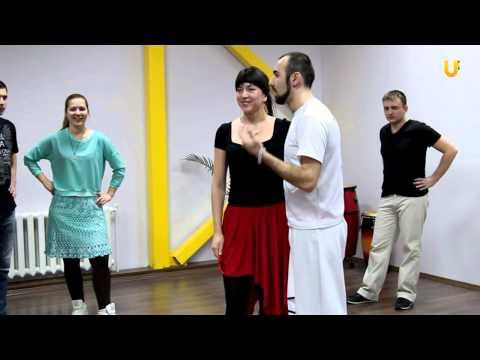 Сальса: техника движений. Обучающая тренировка от Романа Алакаева.