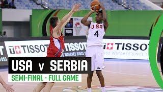Watch the Semi-Final USA v Serbia re-live on the FIBA YouTube channel. The 2014 FIBA U17 Basketball World Championship took place in Dubai, United Arab Emira...