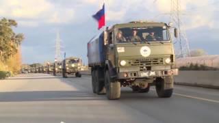 Доставка 150 тонн гуманитарной помощи жителям восточного Алеппо российским Центром примирения