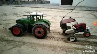 Toy tractor tochan