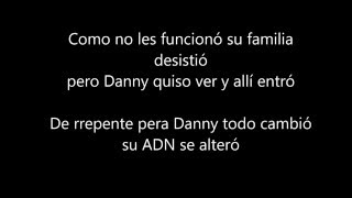 Letras opening Danny Phantom latino