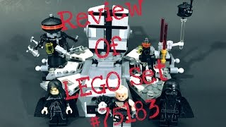 LEGO Star Wars: Darth Vader TransformationSET #: 75183AGES: 7-12YEAR: 2017PART COUNT: 282MSRP: $24.99 USDHelp support this channel and visit my Bricklink store. Here's the link: http://www.bricklink.com/store/home.p...Don't hesitate to follow me on Instagram: https://www.instagram.com/coolkidbricksLEGO® is a trademark of the LEGO Group of companies which does not sponsor, authorize or endorse this site.