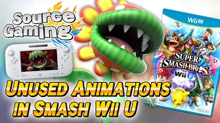 New Unused Animations for Petey Piranha Found in Smash for Wii U