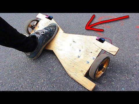 видео как сделать гироскутер в домашних условиях