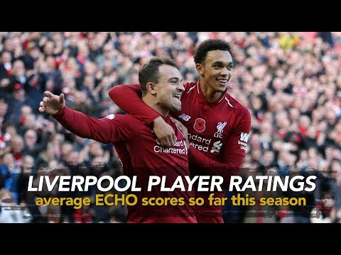 LFC 2018/19 Player Ratings | Average Scores So Far