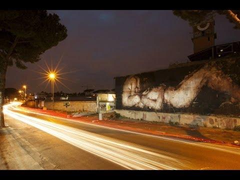 Street Art | BORONDO, Piedad | MAAM, Roma 2013