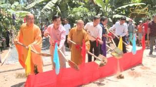 Quỹ Đạo Phật Ngày Nay hỗ trợ xây cầu, làm đường tại An Giang
