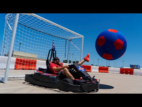 Go Kart Soccer Battle  Dude Perfect
