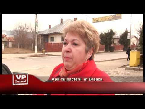 Apă cu bacterii, în Breaza