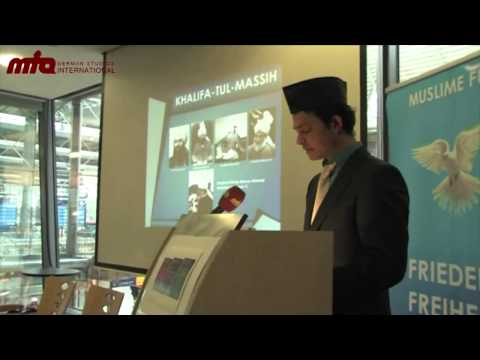 Die 'Muslime für Frieden'-Flyer-Kampagne in München
