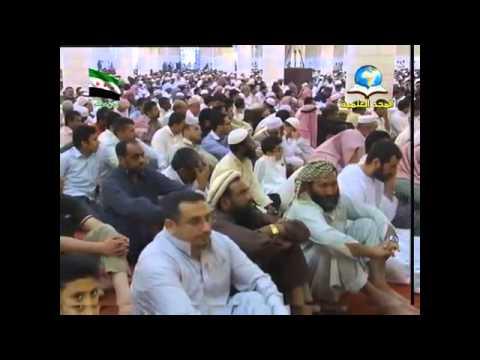 خطبة الجمعة للمفتي ١٤٣٣/٣/٢٥هـ