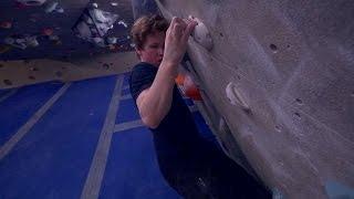 Climbing On Felipe's Creation! by Eric Karlsson Bouldering