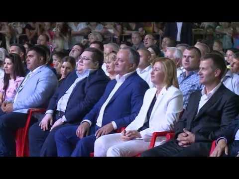 Igor Dodon, Președintele Republicii Moldova a participat la festivitățile prilejuite de ziua creării Găgăuziei și hramul orașului Comrat