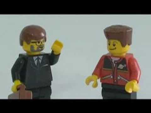 citizen journalists - A short stop-motionish low budget parody of the Mac vs PC advertisement series. sorta. Cue Citizen Journalism vs Traditional Journalism instead. [LEGO ftw lo...