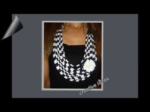 How To Make Fabric Necklace