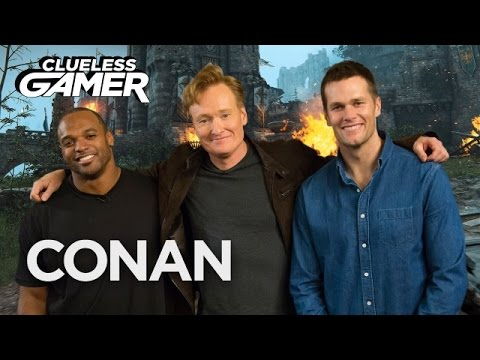 Conan O Brien Plays For Honor with NFL Stars Tom Brady and Dwight Freeney in a Super Bowl 51 Edition of Clueless