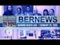 Bermuda Newsflash For Friday, February 28, 2020