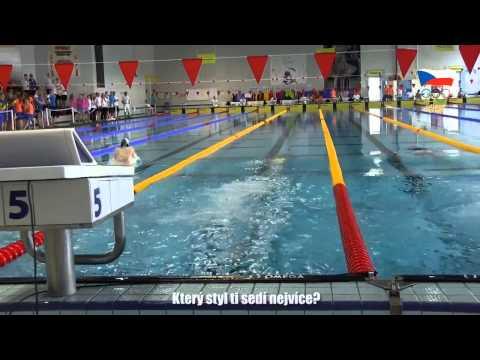 Finálová plavba vítěze na 100 metrů prsa Martina Ráčka