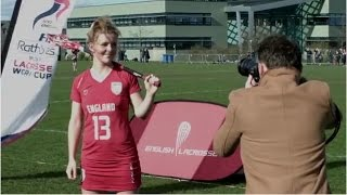 England stars Laura Merrifield and Torz Anderson visited Surrey Sports Park to launch the 2017 FIL Rathbones Women's Lacrosse World Cup. The pair headed down...