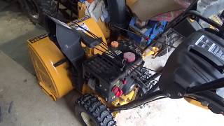 8. Snow Blower to slush pump upgrade, Cub Cadet 524 is now amazing!,