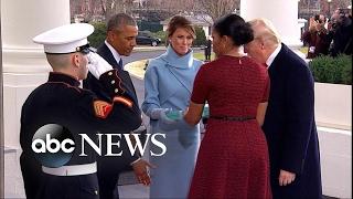 Melania's Gift to Michelle Obama