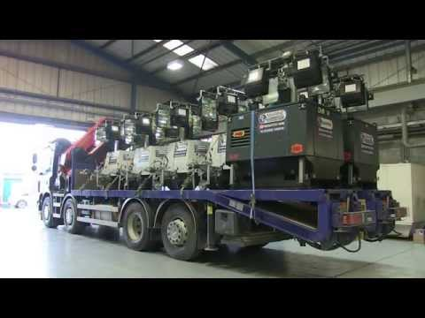 DH Marine Diesel Light Towers