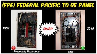 Video REPLACING 1962 Federal Pacific Breaker Panel (FPE/ZINSCO) with G.E. MP3, 3GP, MP4, WEBM, AVI, FLV Agustus 2018
