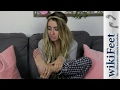 Reacting to my WikiFeet page about my feet! | Lauren Francesca