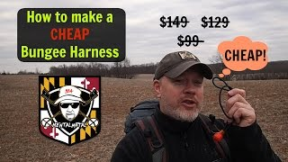Do It Yourself CHEAP Bungee Harness #MetalDetecting #Howto