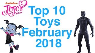 Top 10 Toys in February 2018