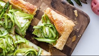 Potato Asparagus Tart by Tasty