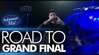 THE SCRIPT - SUPERHEROES - Road To Grand Final - Indonesian Idol 2018