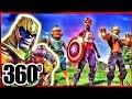 Thanos vs. Fortnite 360 VR Video for Google Cardboard VR BOX 360 Virtual Reality VIDEOS 360° VR 4K