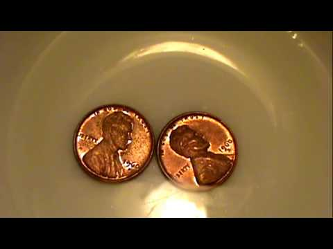 3 Top methods of cleaning pennies
