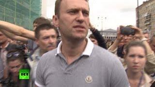 Алексей Навальный прибыл в Москву