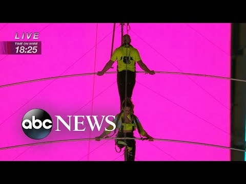 Wallendas Describe High-wire Walk In Times Square