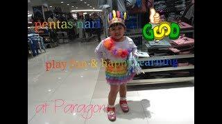 khaeyla pentas tari tradisional di Paragon Mall Semarang #cintaIndonesia