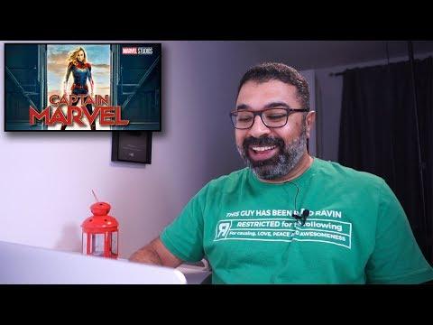 """""""فيلم جامد"""" يراجع الإعلان التشويقي لـ Captain Marvel"""
