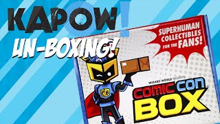 Kapow! Unboxing the Comic Con Box