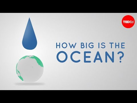 How big is the ocean