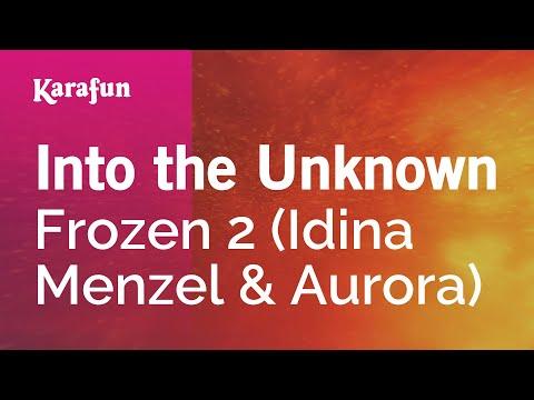 Into the Unknown - Frozen 2 (Idina Menzel & Aurora) | Karaoke Version | KaraFun